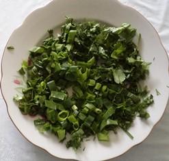 зелень для сушки