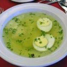 Суп в июне сварим с листьями ранней пикинской капустой