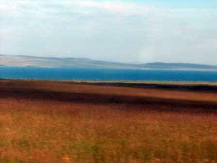 Озеро Беле протяженностью 16 км.