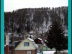Зимние пейзажи на даче в окрестностях Красноярска