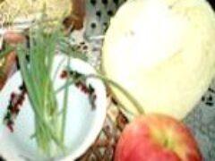 Витаминные салаты зимних месяцев с овощами или зеленью