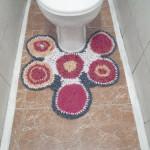 коврик в туалете