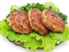Котлеты домашние из говядины и свинины пышные вкусные
