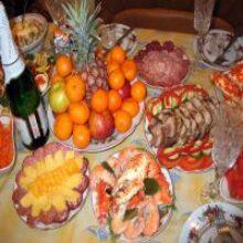 Праздничный стол ко дню победы накрываем всей семьей