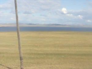озеро Шира в степи