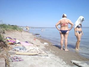 бесплатный пляж на Шира
