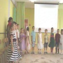 День пожилого человека у внука в детском саду