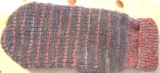 спинка свитера