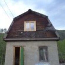 Кирпичный дачный домик ремонтируется c перерывами
