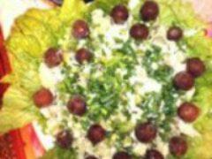 Зимний салат оливье новогодний и к любому празднику