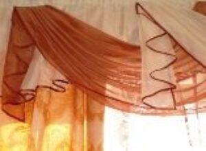 Красиво повесить шторы на окно улучшить интерьер