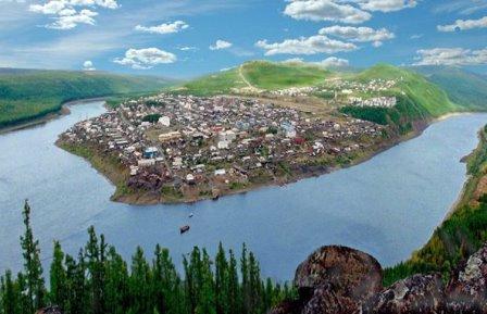 Поселок Тура в Эвенкии