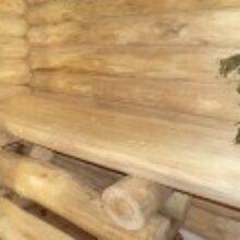 Внутренняя отделка бани своими руками зимой