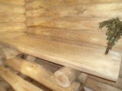 Внутренняя отделка бани своими руками сделана зимой