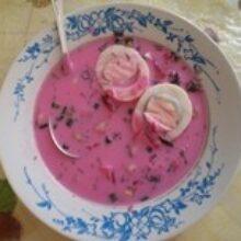 Суп холодник со свеклой хорош в жаркую погоду летом