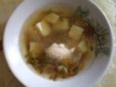 Вкусный суп из овощей не содержит вредных веществ