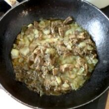 Бефстроганов из говядины в мясном соусе готовлю просто
