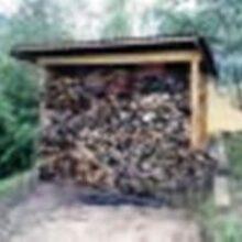 Построить дровник на даче чтобы сохранять дрова сухими