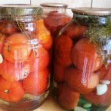 Соление помидор в банки трех литровые зимняя заготовка