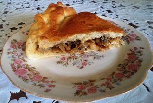 пироги в форме для выпечки другой кусочек