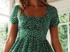 Платье али экспресс перешиваю для себя летнее винтажное